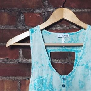 L. A. Hearts Overdyed Crop Top